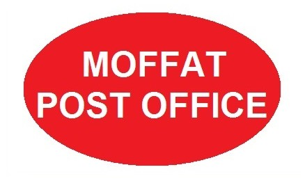 MOFFAT Post Office sign 2
